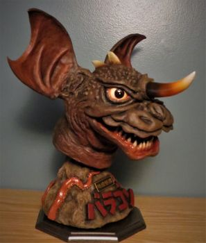 Gow Row Eagle Craft Baragon Bust 3 by Legrandzilla