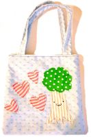 Tree Love Tote Bag by deconstructedstars