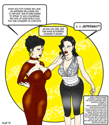 Lois Lane - The Fate of the World Part 1 by GuyBcaps