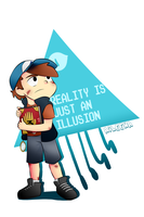 Reality is just an illusion (Gravity Falls) by aileenarip