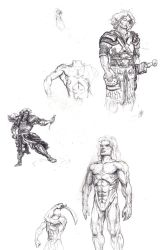Personal stuff - ancient warrior guy by Wisdom-Thumbs