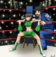 Kena and Gexon - My Cornerman Dad by Gexon