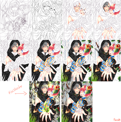 another step by step by RavenMomoka