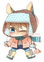 [OPEN] LOWERED PRICE: Winter Adopt 1 by micchiwi
