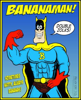 Bananaman (retro outfit) by MalcolmKirk