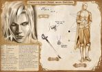 Character Sheet: Vondel by CristianaLeone