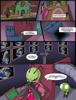 Invader Zim: Conqueror of Nightmare Page 1 by Blhite