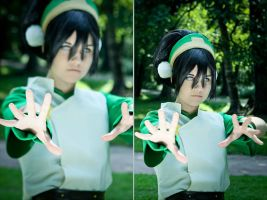 I'm the greatest earthbender in the world! by SorelAmy