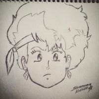 Kei from Dirty Pair by Sylverstone14