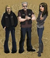 Sons of Anarchy Concepts by MorSpicer