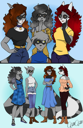 The Cooper girls by Mimisia2367