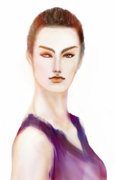 Fashion Illustration by razhbi