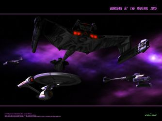 Business at the Neutral Zone by Animaniacarts