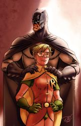 Batman / Robin / TDKR by Grandoc