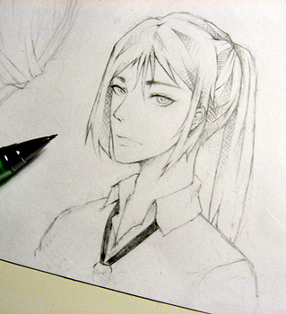 Kuroh doodle by 4TAE