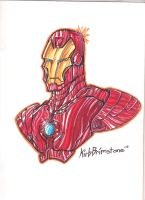 Iron Man by KirbBrimstone
