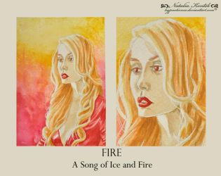 A Song of Ice and Fire - FIRE by HypnoticRose