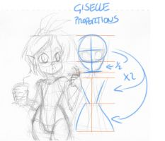 Giselle Proportions by Carlos-the-G