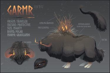 ESK 032 - Garmr Reference Sheet 2018 by Lachtaube