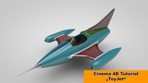 ToyJet modeling (Cinema 4D Tutorial) by NIKOMEDIA