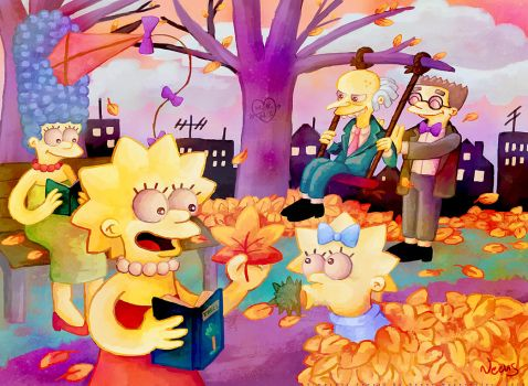 Autumn in Springfield by MissNeens