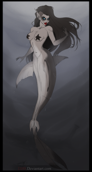 MerMay2018- Shark babe- by DJ88