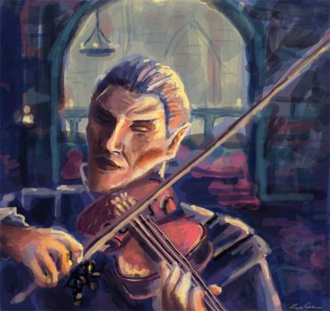 Vingalmo the Violinist by LMColver