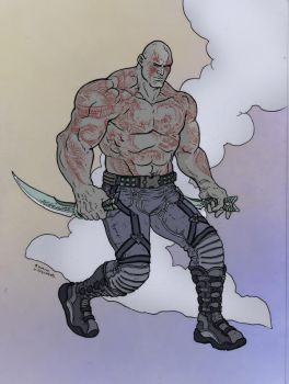 Drax by Ramon Villalabos by ChazWest
