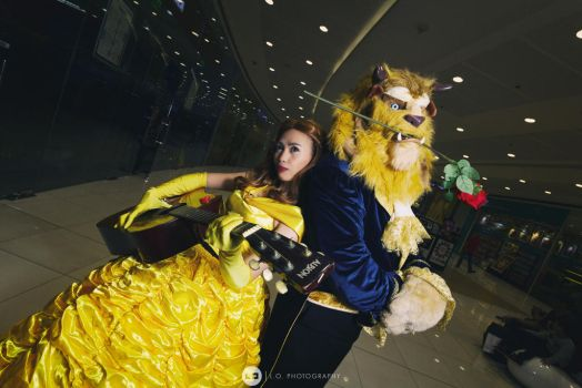 Beauty and the Beast by izabelcortez