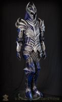 Sapphire Knight Leather Armor 003 by Azmal