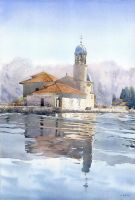 Summertime watercolour by GreeGW