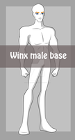 Winx - Male Base by starfirerencarnacion
