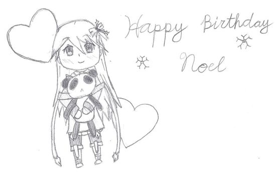 Happy B-Day for Noel by XAngelCharityX