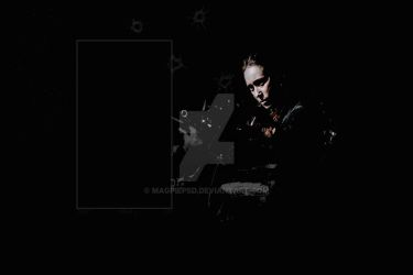 COMMISSIONED BACKGROUND 1 / ALICIA CLARK by magpiepsd