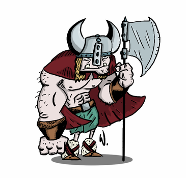 Viking Guy by twitchSKETCH