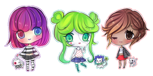 Pagedoll Bouncy Adopts (SOLD) by mochatchi