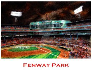 FenwayPosterWEB by tbonematrix