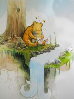 Winnie the pooh by oswalddent