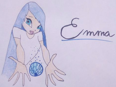 Emma, The Thunder Fairy by Isabelle-llubaly