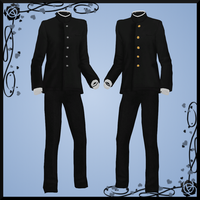 Male School Uniform DOWNLOAD by Reseliee