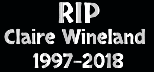 RIP Claire Wineland 1997-2018 by EarWaxKid