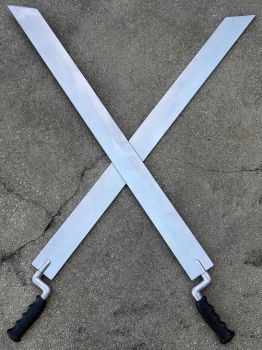Father Alexander Anderson's Bayonets from Hellsing by firebladecomics
