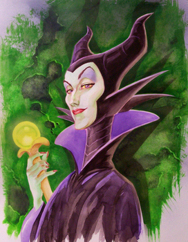 Maleficent by cbgorby