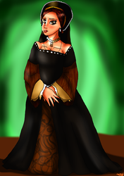 The Six Wives of Henry VIII: Anne Boleyn by lollypop081