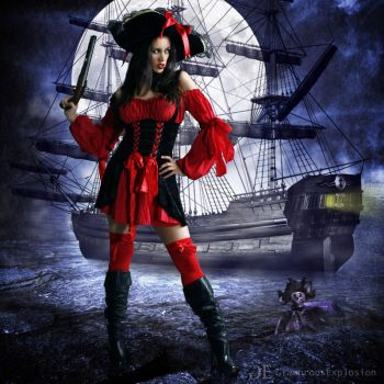 Pirate bridal by lightplutonium