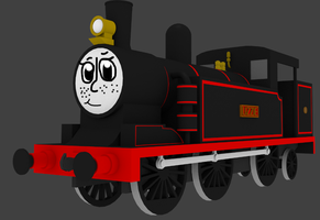 Lizzie The Tank Engine new and improved by Sirfowler1