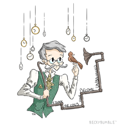 The Watchmaker by BeckyBumble