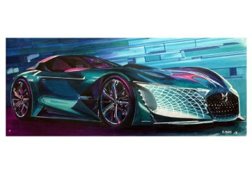 DS CONCEPT CAR by Stephen59300