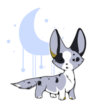 Cardigan Welsh Corgi Chibi by SombraStudio