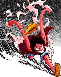 Luffy GEAR SECOND by MaximoVLorenzo